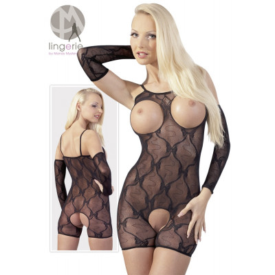 BODYSTOCKING A GAMBA CORTA...