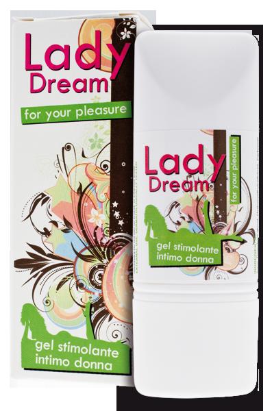 """GEL STIMOLANTE PER DONNA INTIMATELINE """"LADY DREAM"""" - 50 ML"""