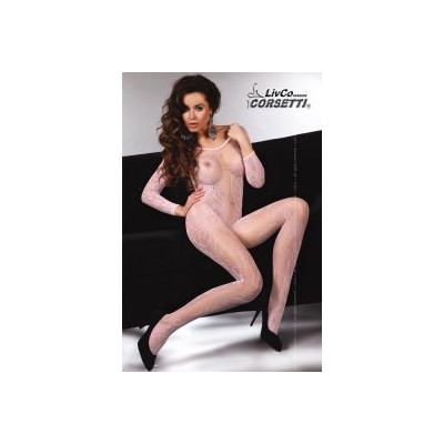 BODYSTOCKING GIALLO CON...