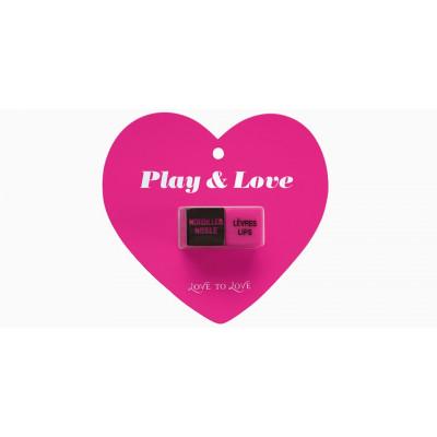 """GIOCO DADI \""""PLAY & LOVE\""""..."""